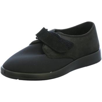 Schuhe Herren Hausschuhe Florett Varomed,L,schwa 60810-60 schwarz