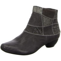 Schuhe Damen Stiefel Think Stiefeletten NV 85253-15 grau