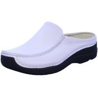 Schuhe Damen Pantoletten / Clogs Wolky Pantoletten 6250-710 weiß