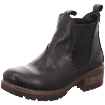 Schuhe Damen Boots Lazamani Stiefeletten schwarz