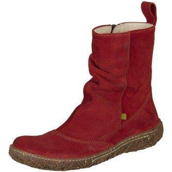 Schuhe Damen Stiefel Diverse Stiefeletten Schlupf/Reißverschlussstiefelette Kaltfutter Nido N rot