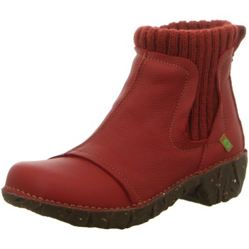 Schuhe Damen Stiefel Diverse Stiefeletten NE23 rot
