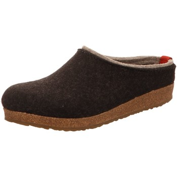 Schuhe Herren Hausschuhe Haflinger Grizzly Kris 711056 77 grau