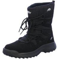 Schuhe Damen Schneestiefel Lico Stiefeletten 710106 schwarz