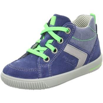 Schuhe Jungen Boots Superfit Schnuerschuhe 6-00358-88  6-00358-88 blau