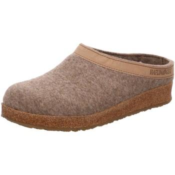 Schuhe Damen Hausschuhe Haflinger Grizzly Torben 713001-550 torf braun