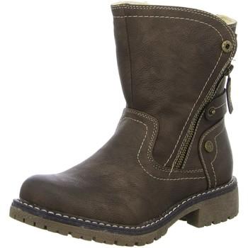 Schuhe Damen Stiefel Supremo Stiefeletten brown 3722901 braun