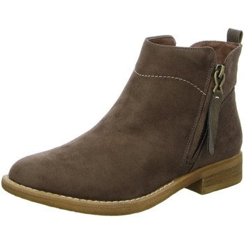 Schuhe Damen Boots Diverse Stiefeletten Schlupf/RV-St.Sp-Bod 1006135 braun
