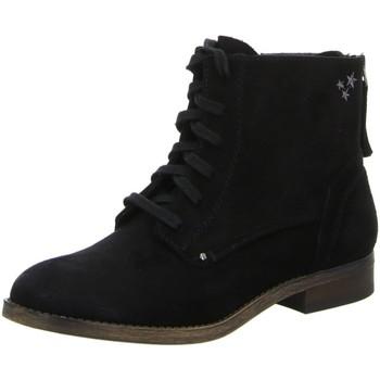 Schuhe Damen Stiefel Diverse Stiefeletten Schlupf/RV-St.gl.Bod 1006198 schwarz