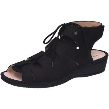 Schuhe Damen Sandalen / Sandaletten Finn Comfort Sandaletten MALAGA 02515-046099 schwarz
