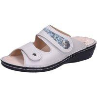Schuhe Damen Pantoffel Finn Comfort Pantoletten 82582901623 weiß