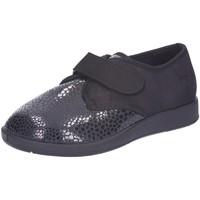 Schuhe Damen Derby-Schuhe Florett Slipper 60811 60 schwarz