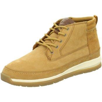 Schuhe Herren Boots Boxfresh CRYSER UH LEA/SDE TAN E-14839 braun