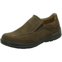 Schuhe Herren Slipper Jomos Slipper Komfort Slipper Man Life,choco 419208 braun