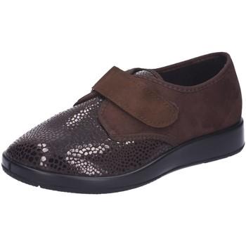 Schuhe Damen Derby-Schuhe Florett Slipper 60.811-52 braun