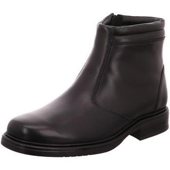 Schuhe Herren Stiefel Longo Bequem WF 1005377 0 schwarz