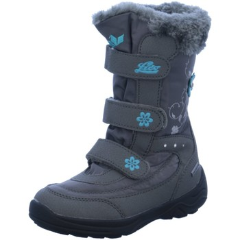 Schuhe Jungen Schneestiefel Brütting Klettstiefel 720234 grau