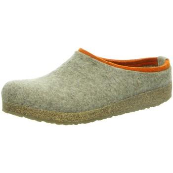 Schuhe Herren Hausschuhe Haflinger Grizzly Kris 711056-550 beige