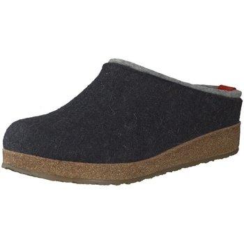 Schuhe Herren Hausschuhe Haflinger Grizzly Kris,graphit 711056 grau