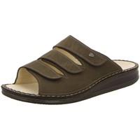 Schuhe Damen Pantoffel Finn Comfort Offene KORFU 01508-039014 braun