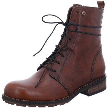 Schuhe Damen Stiefel Wolky Stiefeletten MURRAY 0443220 430 braun