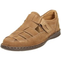 Schuhe Damen Slipper Sioux Slipper Elcino 36324 braun