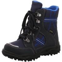 Schuhe Jungen Schneestiefel Superfit Schnuerstiefel NV 00042-80 blau
