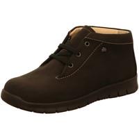 Schuhe Damen Boots Finn Comfort Schnuerschuhe Leon 02854046099 schwarz