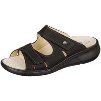 Schuhe Damen Pantoffel Finn Comfort Pantoletten Palau 03350-046099 Buggy 03350-046099 schwarz
