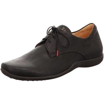 Schuhe Herren Derby-Schuhe Think Schnuerschuhe 88612-00 schwarz