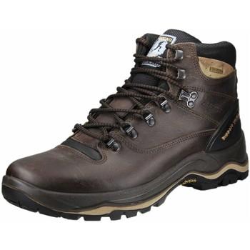 Schuhe Herren Wanderschuhe Grisport marrone (dunkel-schwarz) 11205D15G braun