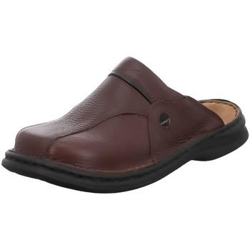 Schuhe Herren Hausschuhe Josef Seibel Pantoletten KLAUS 1099926/341 braun