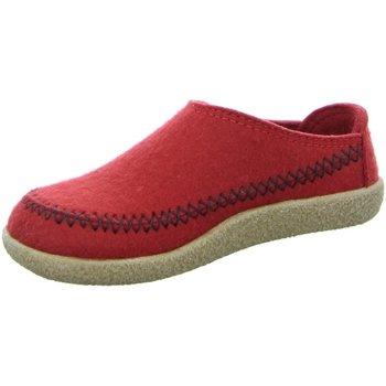 Schuhe Herren Hausschuhe Haflinger Credo 718001-11 rot