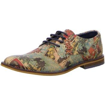 Schuhe Herren Derby-Schuhe Bullboxer Schnuerschuhe 773K23855XP304 bunt