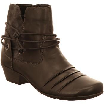 Schuhe Damen Low Boots Remonte Dorndorf Stiefeletten D7368 01 schwarz