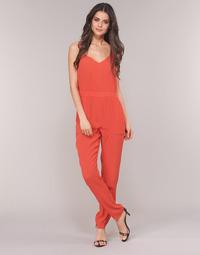 Kleidung Damen Overalls / Latzhosen See U Soon GARAGAI Rot