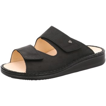 Schuhe Herren Pantoffel Finn Comfort Offene Riad 01505-046099 schwarz