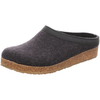 Schuhe Herren Hausschuhe Haflinger Grizzly Torben 713001-77 graphit grau