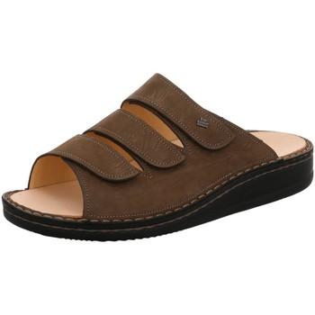 Schuhe Herren Pantoffel Finn Comfort Offene korfu 1508-039014 braun