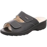Schuhe Damen Pantoffel Fidelio Pantoletten 33703/10 schwarz