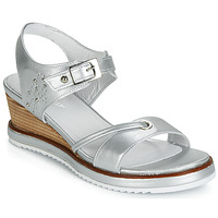 Schuhe Damen Sandalen / Sandaletten Regard RAXALI V3 ECLAT ARGENT Silbern