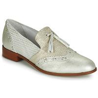 Schuhe Damen Slipper Regard REVAMI V3 METALCRIS ICE Silbern