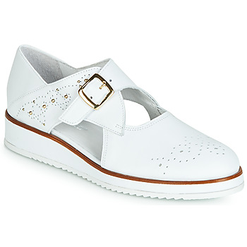 Schuhe Damen Derby-Schuhe Regard RIXALO V1 NAPPA BLANC Weiss