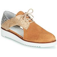 Schuhe Damen Derby-Schuhe Regard RIXULO V3 VEL CAMEL Braun