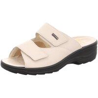 Schuhe Damen Pantoffel Fidelio Pantoletten NOS 33703-02 beige