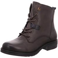 Schuhe Damen Stiefel Be Natural Stiefeletten Da.-Stiefel 25202-29/206 grau