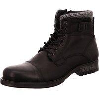 Schuhe Herren Stiefel Mustang 4865506-9 schwarz