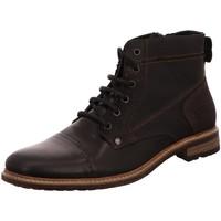 Schuhe Herren Stiefel Bullboxer 870-K5-5872A-MCKB schwarz