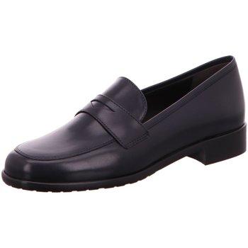 Schuhe Damen Slipper Luca Grossi Slipper 5025 blau schwarz