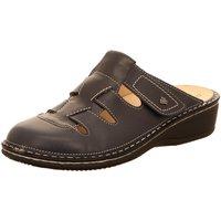 Schuhe Damen Pantoletten / Clogs Finn Comfort Pantoletten JAVA 02520-272042 272042 blau